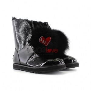 Купить ISLEY PATENT WATERPROOF BOOT - Black фото