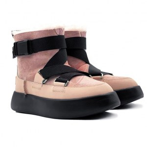 Купить Женские UGG Boom Buckle Boot - Pink Crystal фото