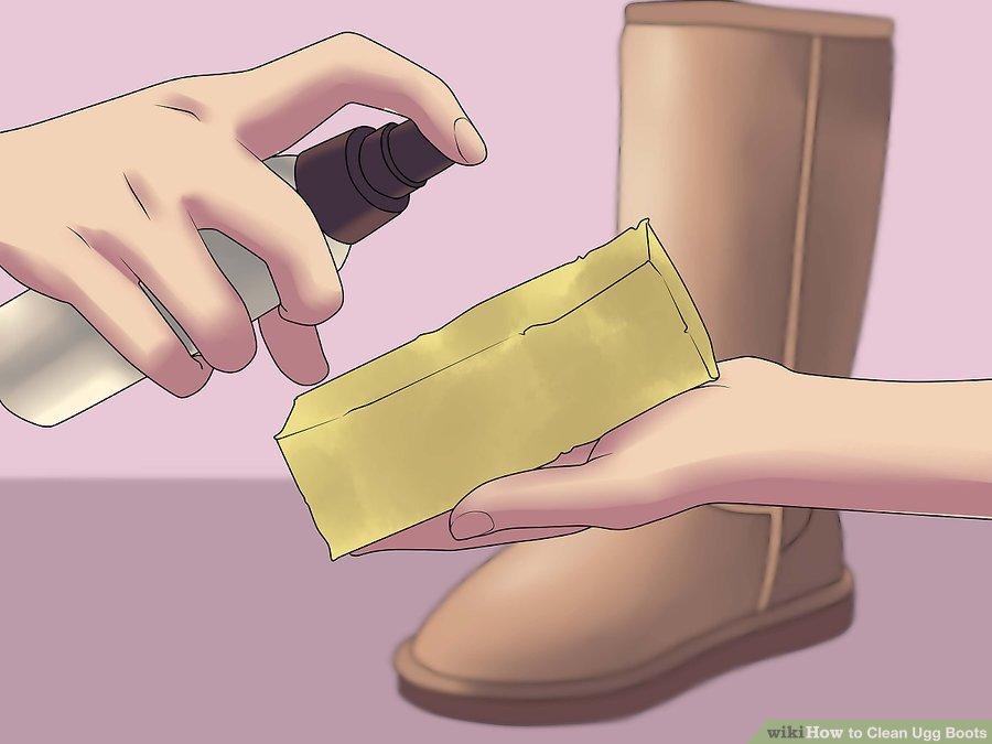 как почистить угги от соли